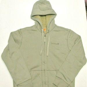 Timberland Men's Polar-Lined Hooded Sweatshirt